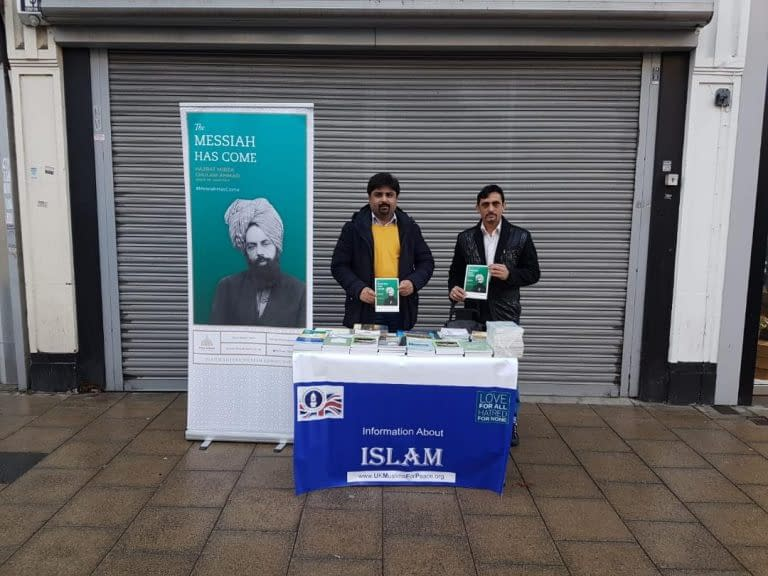 Noor Region-Mitcham Park Tabligh Stall Report in February 2019