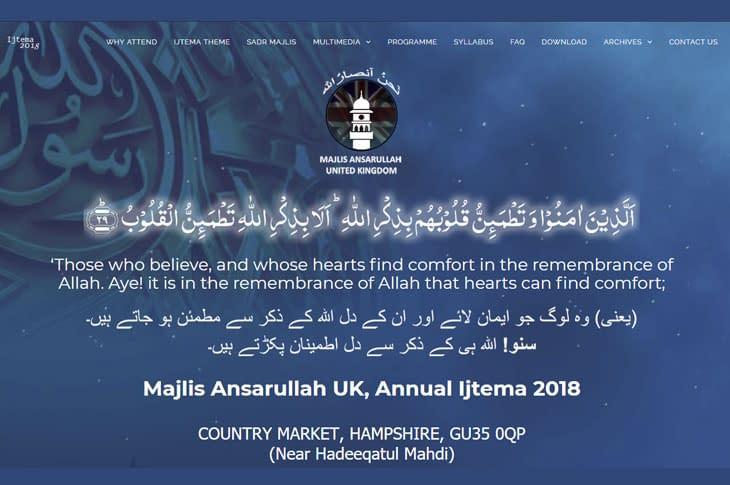 Majlis Ansarullah UK National Ijtema